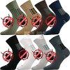 Ponožky proti klíšťatům, s obsahem mikročástic
