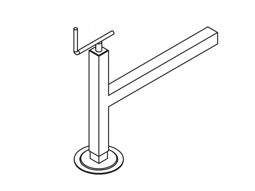 šroubový stabilizátor