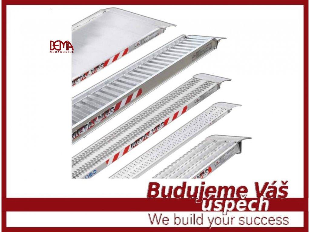 Nájezdové rampy Metalmec rovné (4)