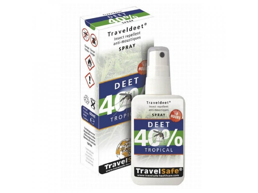 TravelSafe repelent Traveldeet 40% sprej
