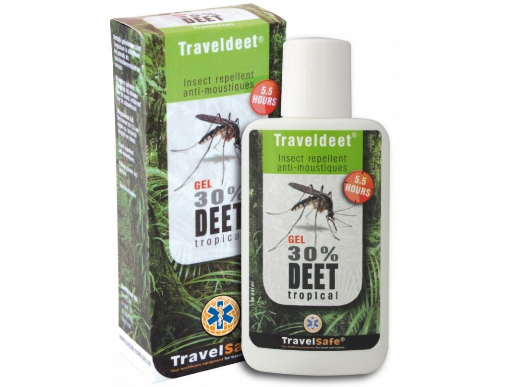 TravelSafe repelent Traveldeet 30% gel