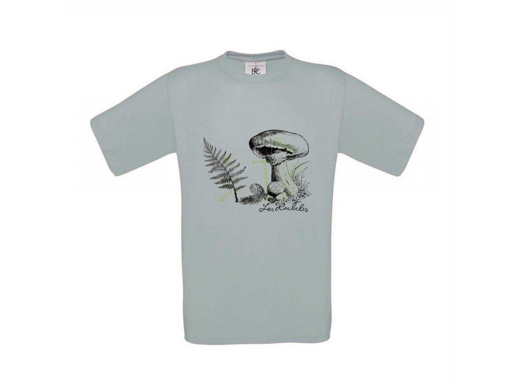 Pánské tričko v kapradí
