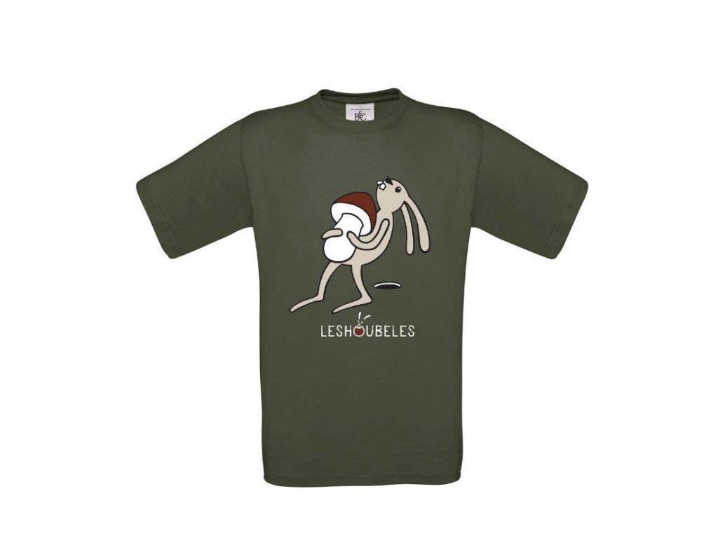 """Pánské tričko """"Zajíc"""""""