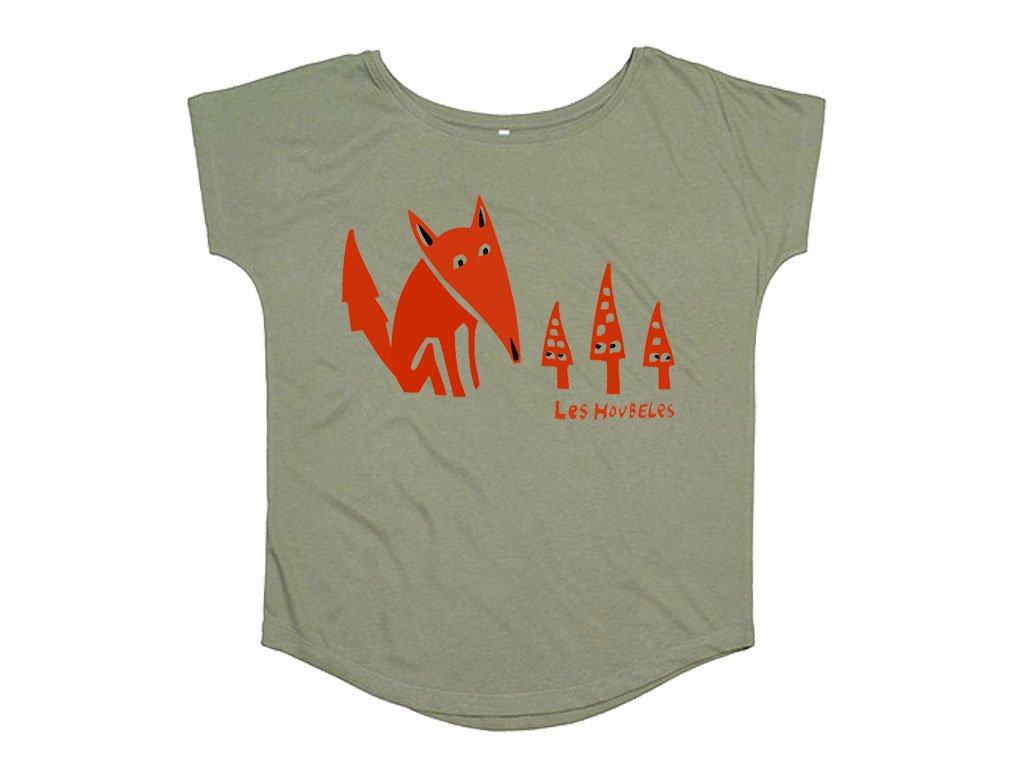 Dámské tričko Lišák