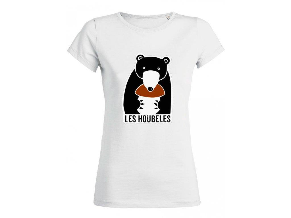 Dámské tričko - medvěd