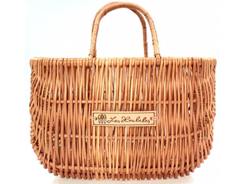 Proutěná taška