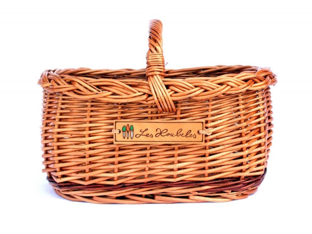 Světlý košík Les Houbeles malý