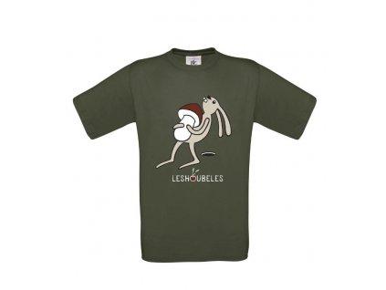 Pánské tričko Zajíc