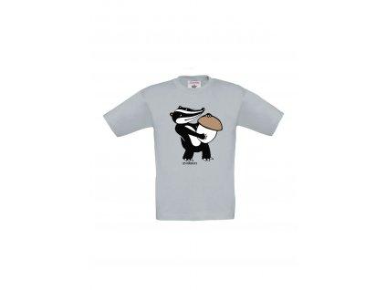 """Dětské tričko """"Jezevec"""""""