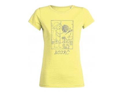 Dámské tričko Kotrč