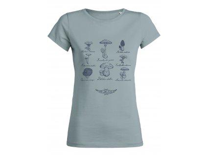 """Dámské tričko """"Mykologické"""""""