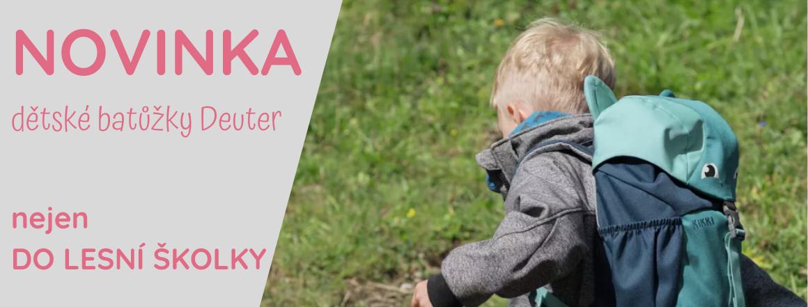 Dětské batůžky lehké deuter do lesní školkyna výlet