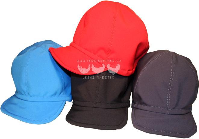 Softshellové čepice