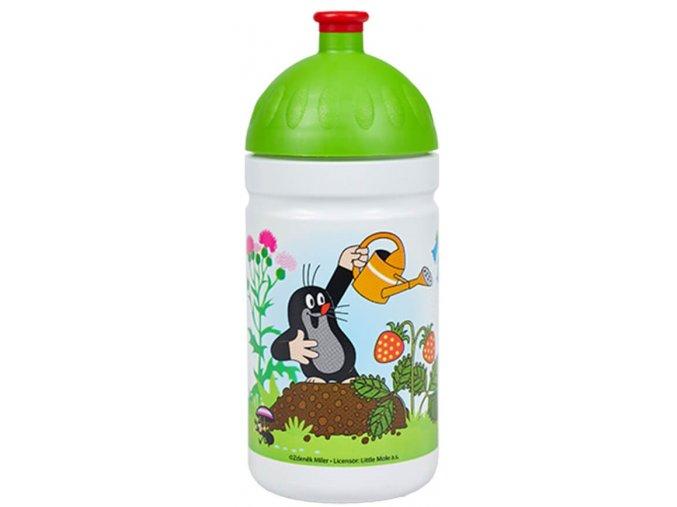 Zdrava lahev S05L krtek jahody zelena predni