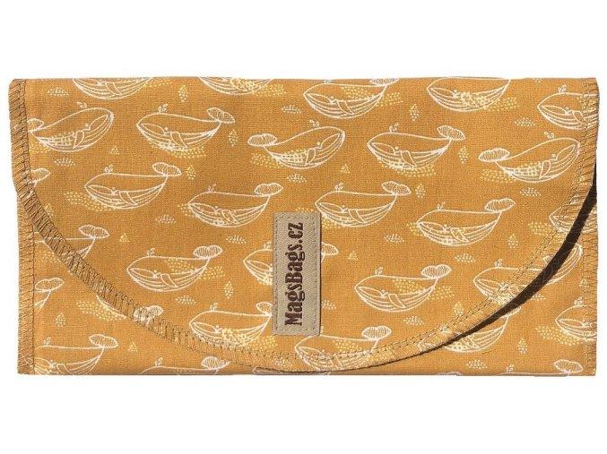 Svačinová kapsa velká - velryby