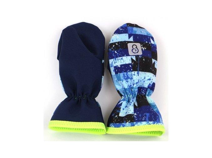 600x600 g2889 softshellove rukavice palcaky tm. modra maskac