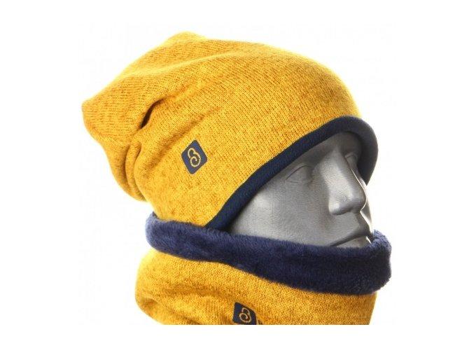 460x1000 g2554 zimni svetrova cepice horcicova tm. modra.