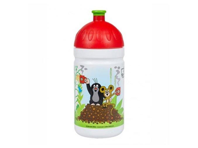 zdrava lahev krtek a jahody 0 5l cervene 2 1