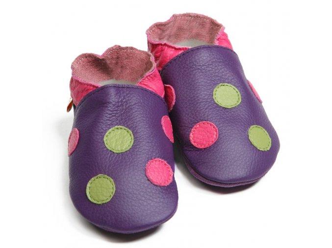 polka dots purple1