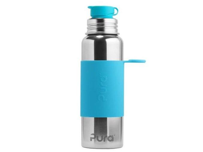 pura nerezova lahev se sportovnim uraverem 850ml aqua