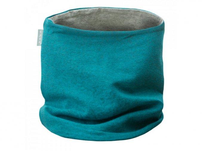 3945 1 unuo detsky nakrcnik z teplakoviny aqua
