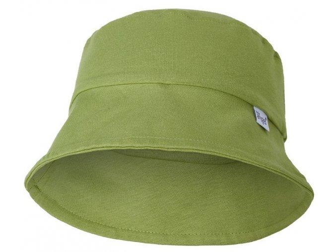dětský klobouk outlast zelený