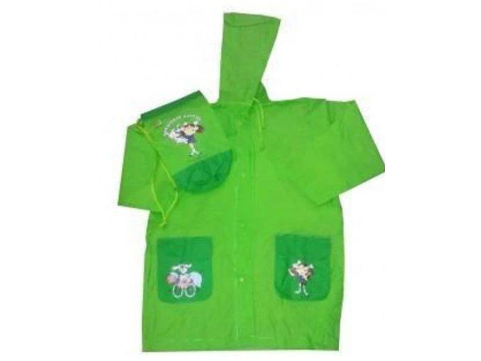 Pláštěnka ŠKUBÁNEK zelený