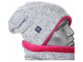 460x1000 g2555 zimni svetrova cepice seda ruzova.
