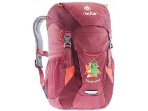 dětský batoh do lesní školky červený 3