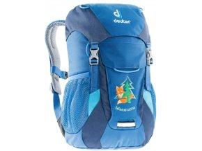 dětský batoh do lesní školky modrý1