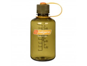 Nalgene 16Oz Narrow Mouth Bottle Olive