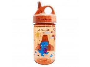 Nalgene Dětská lahev Nalgene Grip´n Gulp 350 ml ORANGE/VOLCANO