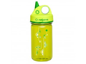Nalgene  Dětská lahev Grip´n Gulp 350 ml GREEN CARS