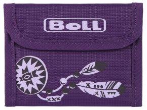 dětská peněženka fialová 1