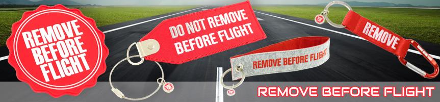 Dárkové předměty Remove Before Flight