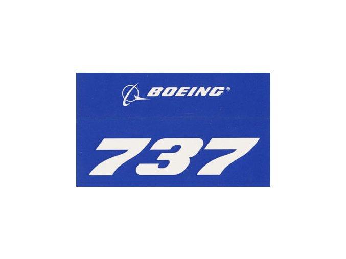 B737 modra