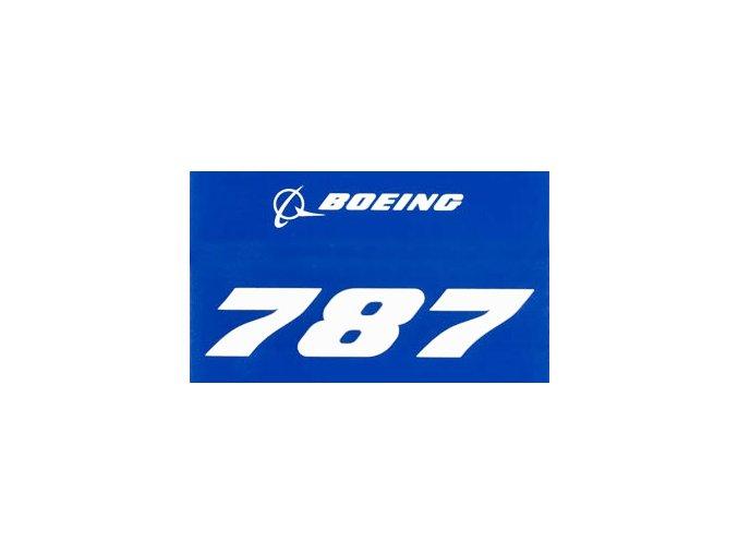 B787 modra