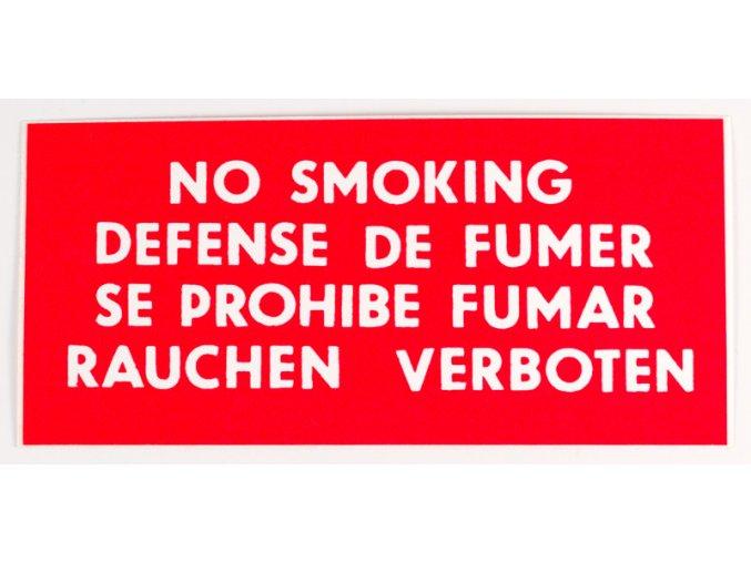 f 66samolepka no smoking