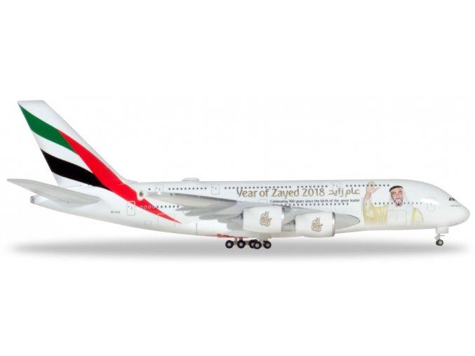 a380 emirates zayed 1