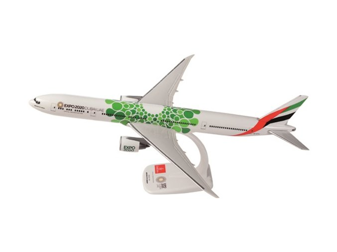 Emirates 777 Green