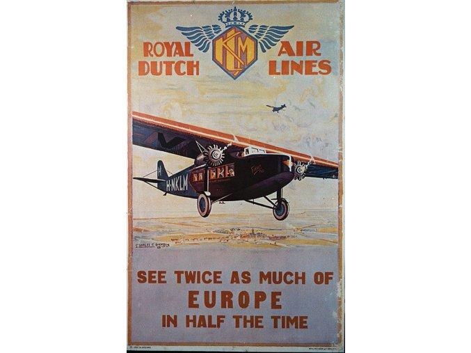KLM Europe Vintage