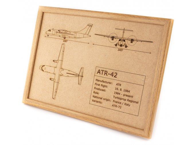 ATR 42 left