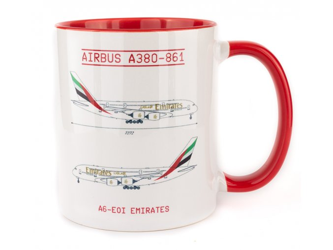 A380 Emirates front
