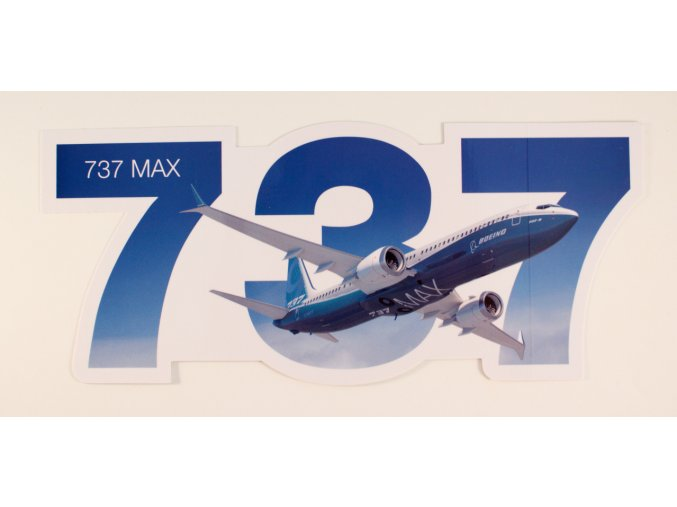 737 samolepka