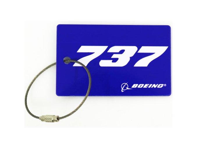 737 Jmenovka na kufr