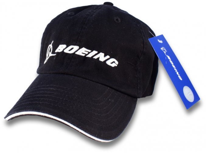boeing hat black