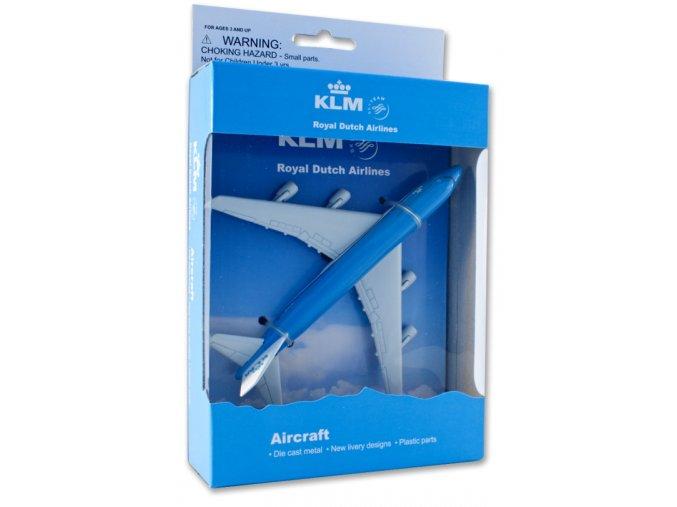 Hračka letadla Boeing 747-400 KLM