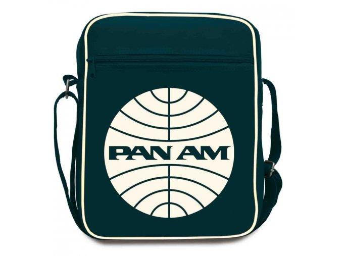 Pan Am brašna přes rameno Large zepředu