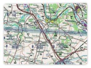 Puzzle VFR mapa ČR