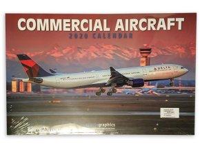 Kalendář 2020 - Civilní letadla